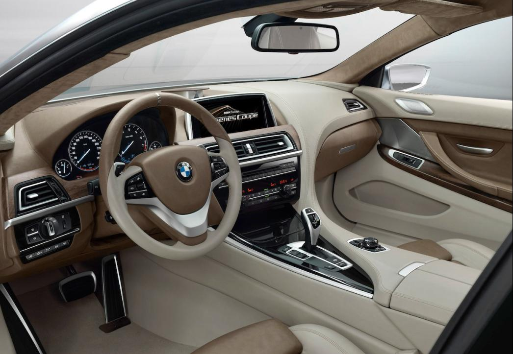 Bmw 6 Series 2011 Interior. The interior has been given a