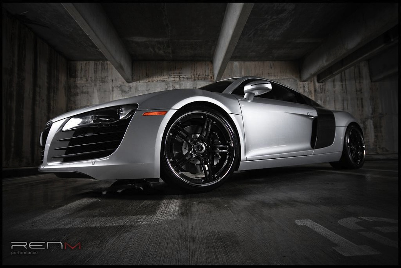 591 hp audi r8 by renm performance. Black Bedroom Furniture Sets. Home Design Ideas