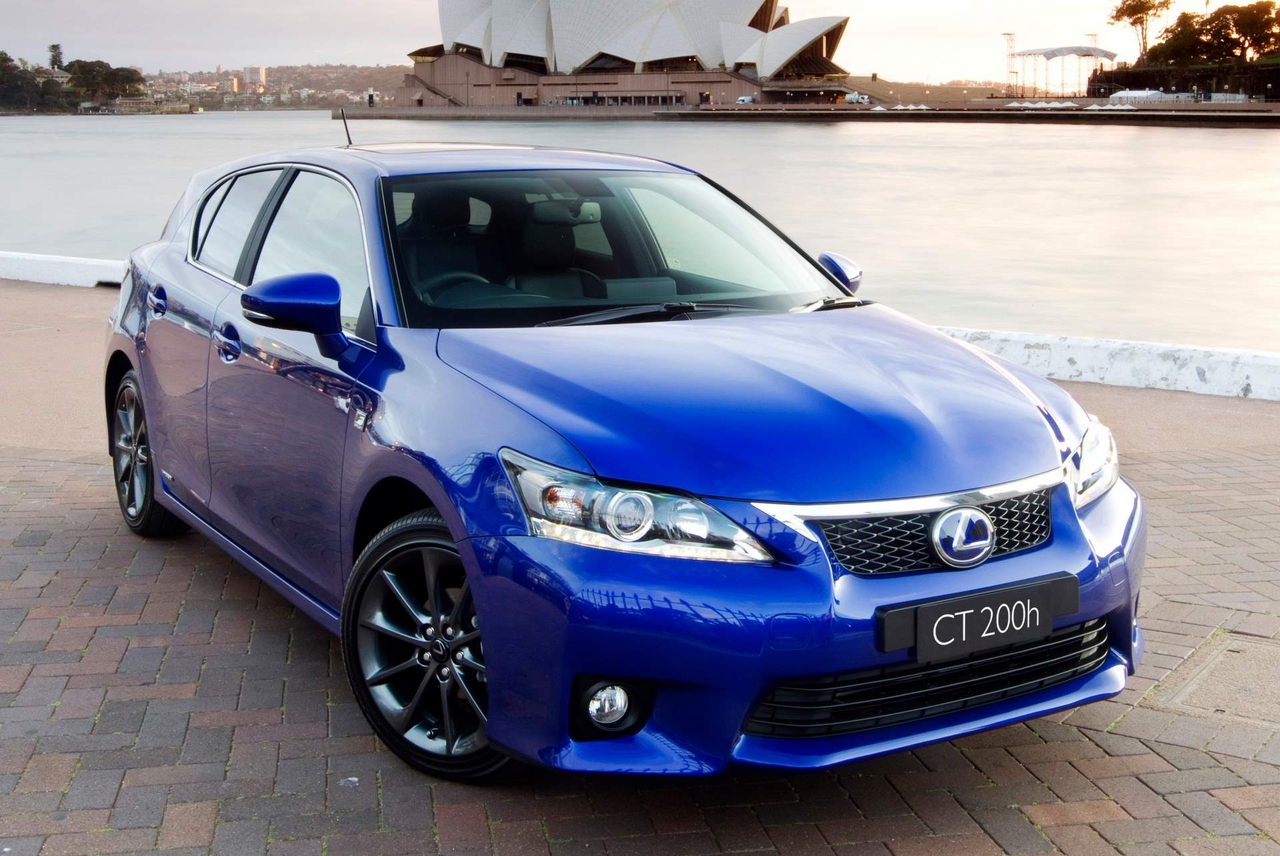 lexus ct 200h f sport debuts at 2010 sydney motor show. Black Bedroom Furniture Sets. Home Design Ideas