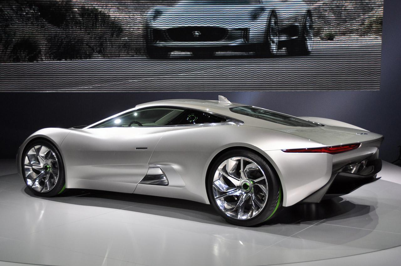 Jaguar Turbine Electric Car
