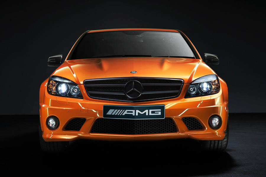 Mercedes benz c63 amg orange 3 for Mercedes benz orange