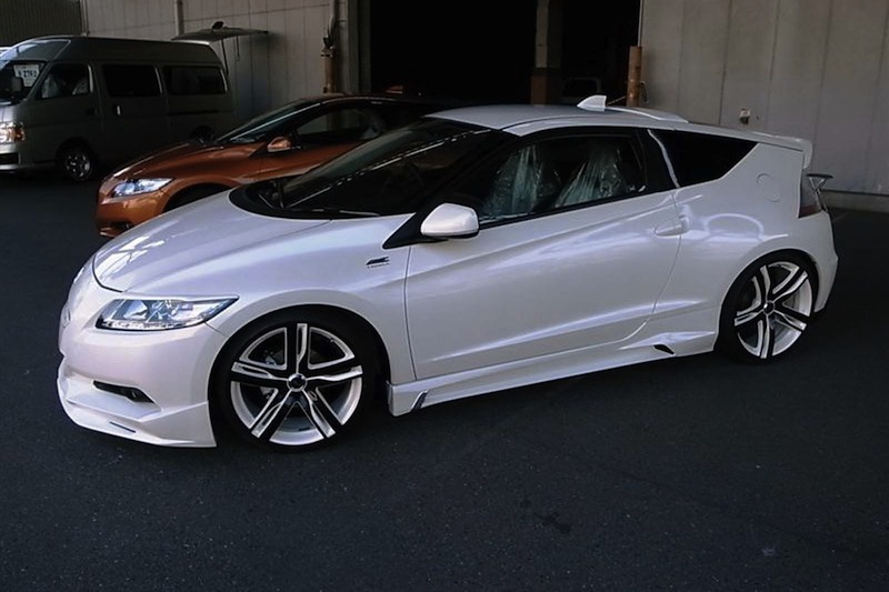 ams offers honda cr z hybrid body kit. Black Bedroom Furniture Sets. Home Design Ideas