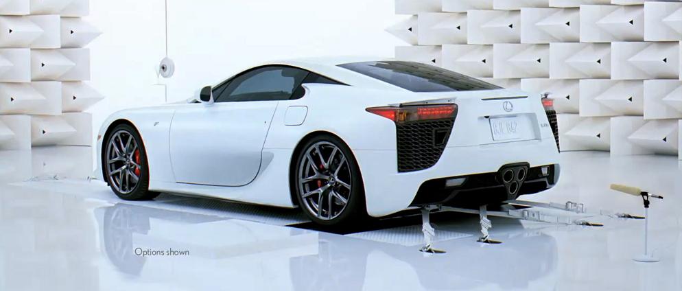 Lexus lfa engine sound