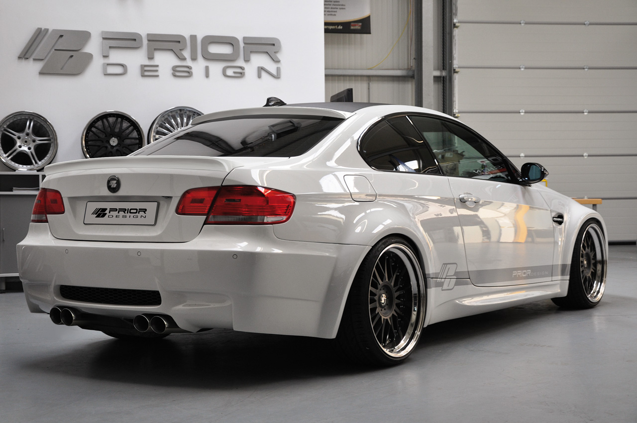 Prior Design Rolls Out Bmw E92 3 Series Coupe Widebody Kit