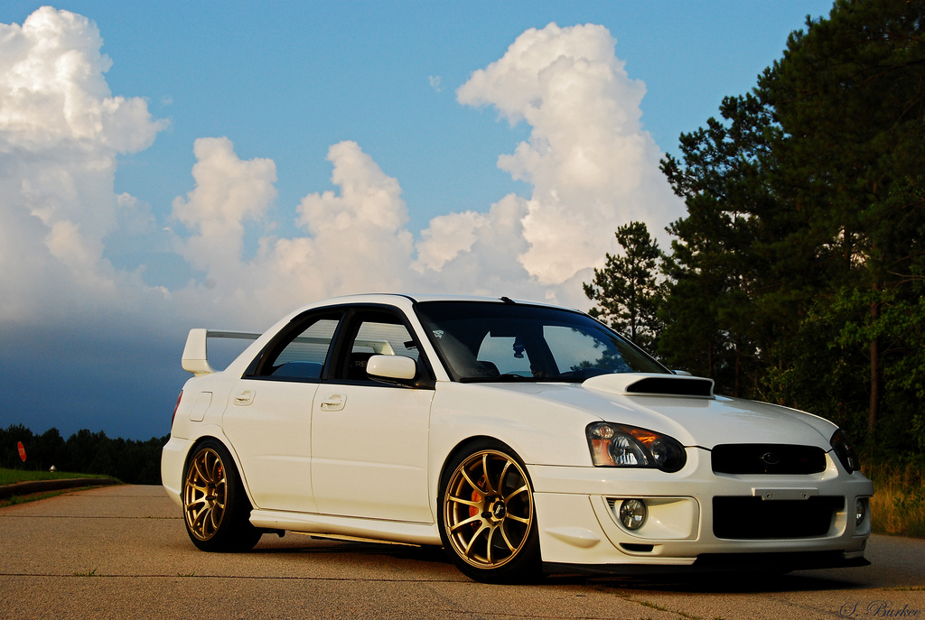 Random Pick Subaru Impreza Sti On Advan Rs Forcegt Com