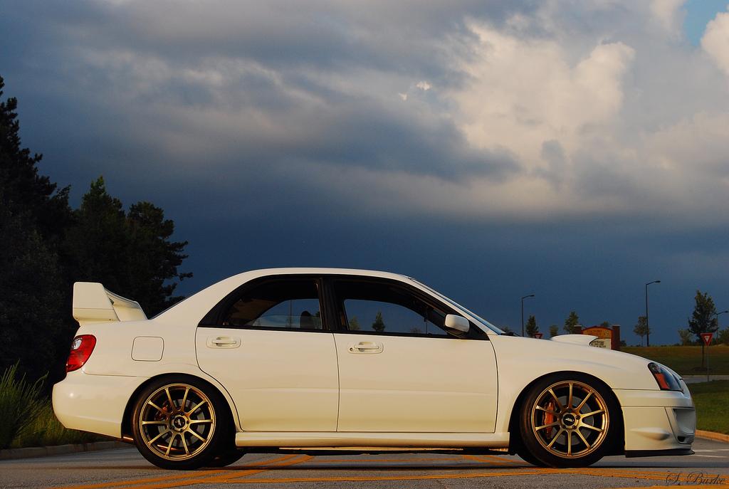 Random Pick Subaru Impreza Sti On Advan Rs Forcegt Com