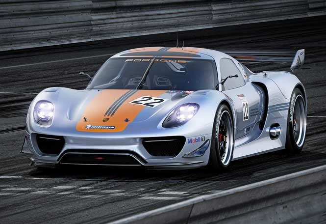 2011 Detroit Motor Show Porsche 918 Rsr Hybrid Forcegt Com