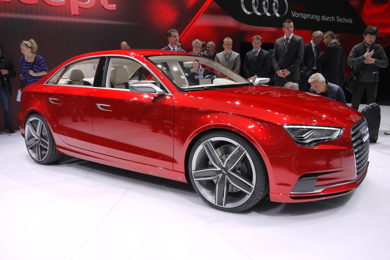 2011 geneva motor show new audi a3 sedan concept. Black Bedroom Furniture Sets. Home Design Ideas