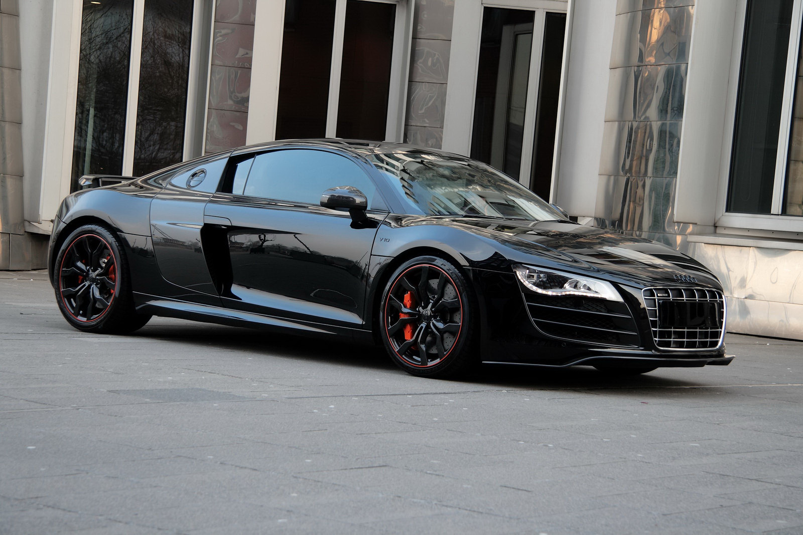 audi r8 hyper black edition. Black Bedroom Furniture Sets. Home Design Ideas