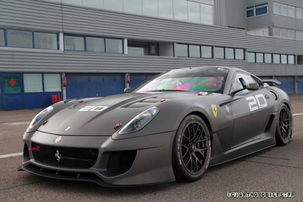 Random Matte Colored Ferrari 599xx Forcegt Com