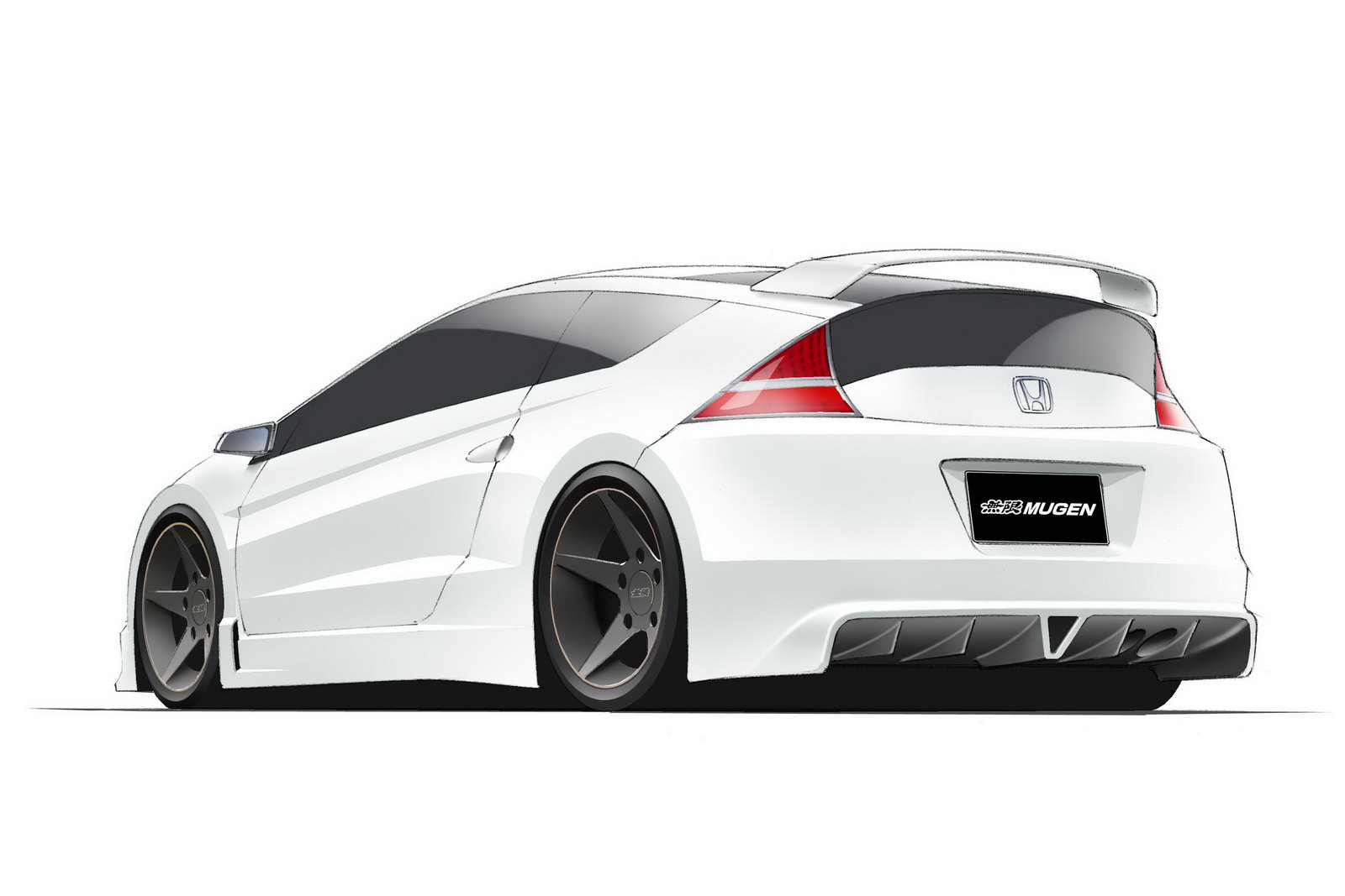 mugen tweaks honda cr z hybrid sport hatch. Black Bedroom Furniture Sets. Home Design Ideas