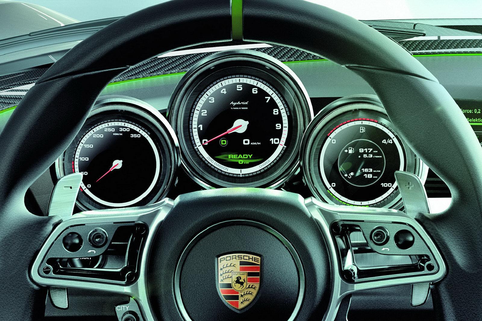 Porsche 918 Spyder Concept 13