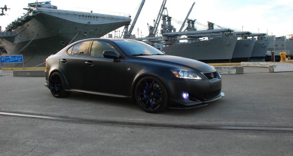 Tuned Matte Black Wide Body Lexus Is350
