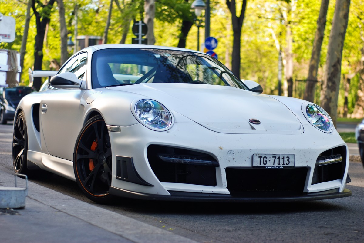 tuned techart gtstreet rs based on porsche 997 gt2. Black Bedroom Furniture Sets. Home Design Ideas