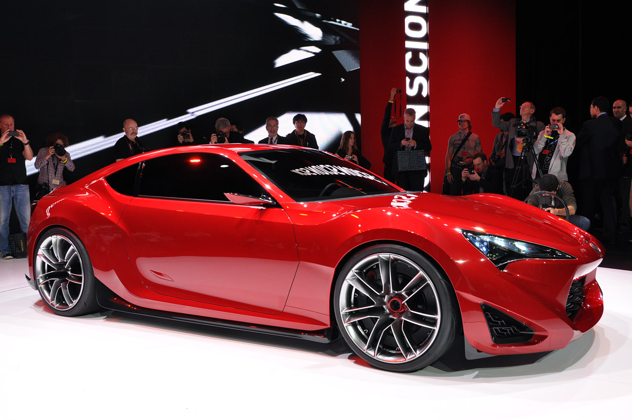 2011 new york auto show scion fr s coupe concept. Black Bedroom Furniture Sets. Home Design Ideas