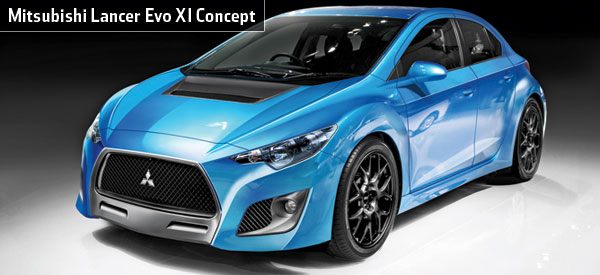 Mitsubishi Cars - News: Lancer Evolution XI to be hybrid