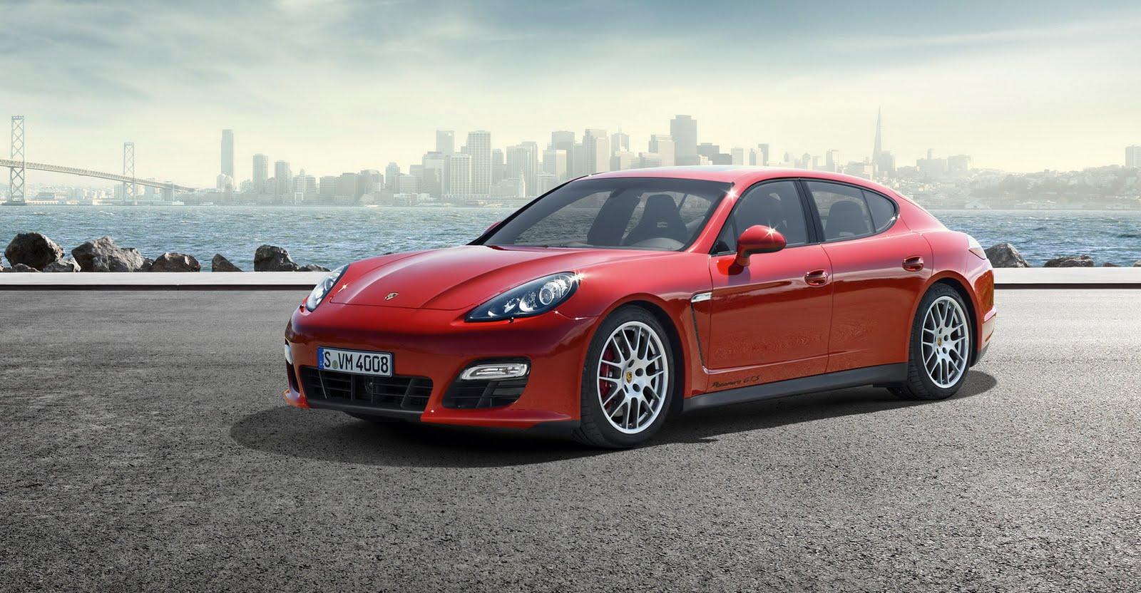 2011 La Auto Show Porsche Panamera Gts World Debut