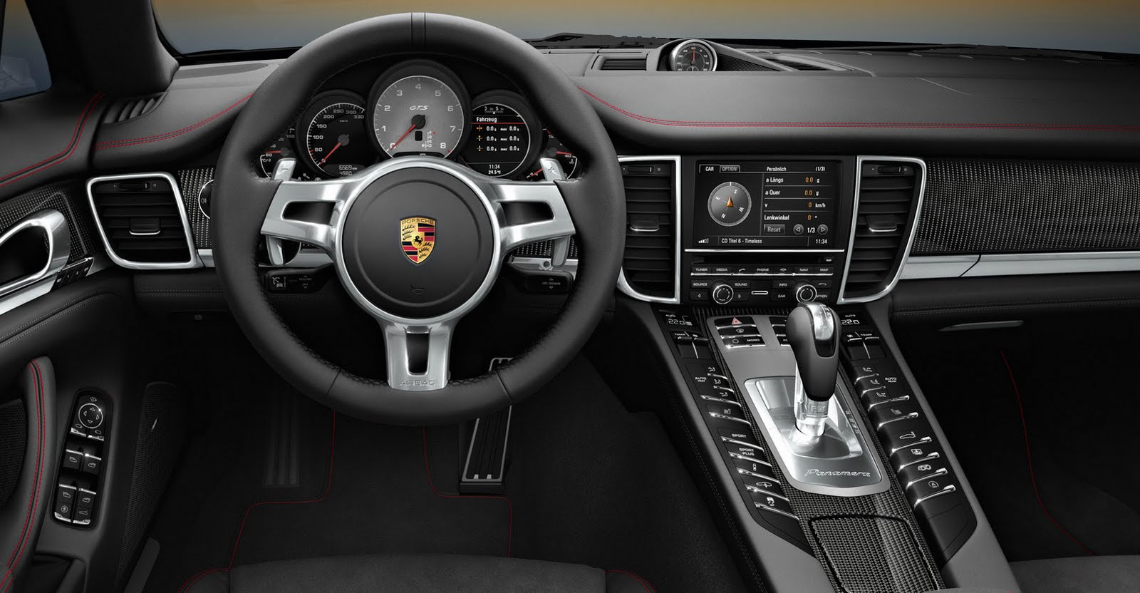 2011 la auto show porsche panamera gts world debut. Black Bedroom Furniture Sets. Home Design Ideas
