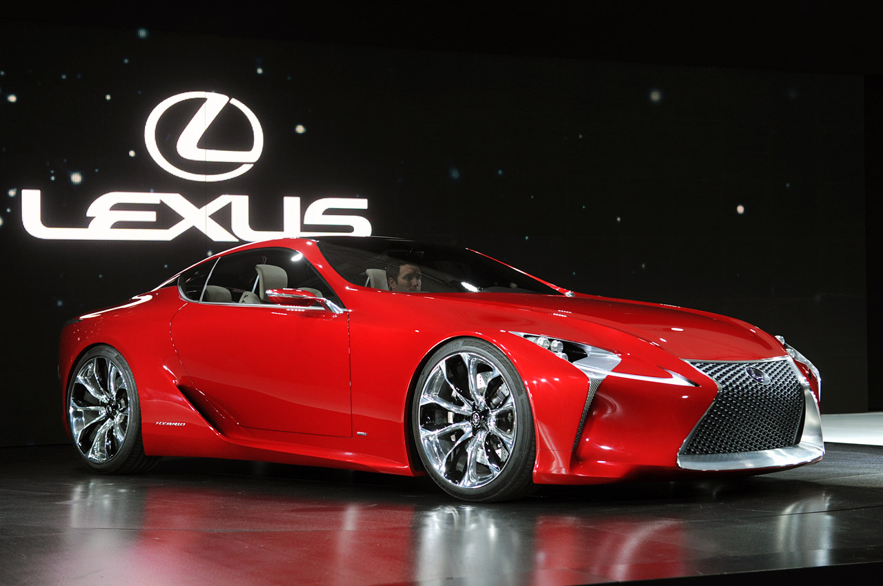 First Look Lexus Lf Lc Breaks Cover At Detroit Forcegt Com