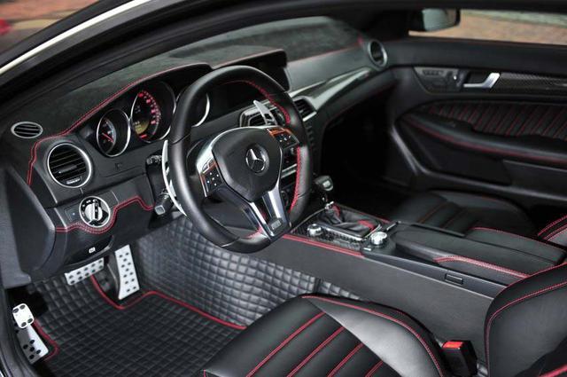2012 brabus bullit mercedes benz c class coup - Mercedes benz c class coupe interior ...