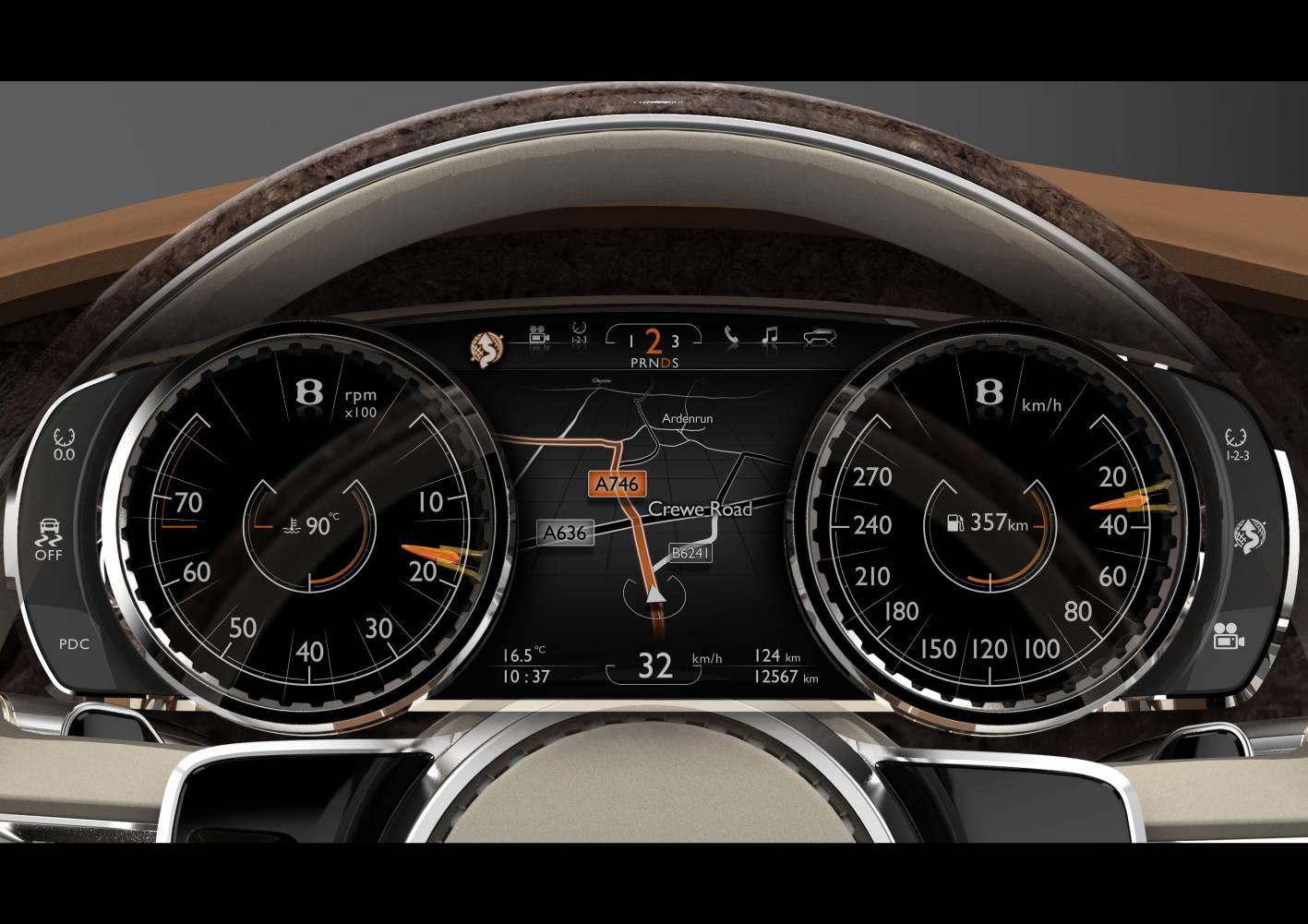 Bentley Exp 9 F Concept Interior 2 Forcegt Com