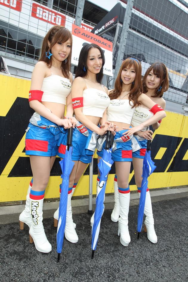 2012 Super GT Round 2 Race Queen 27 - ForceGT.com