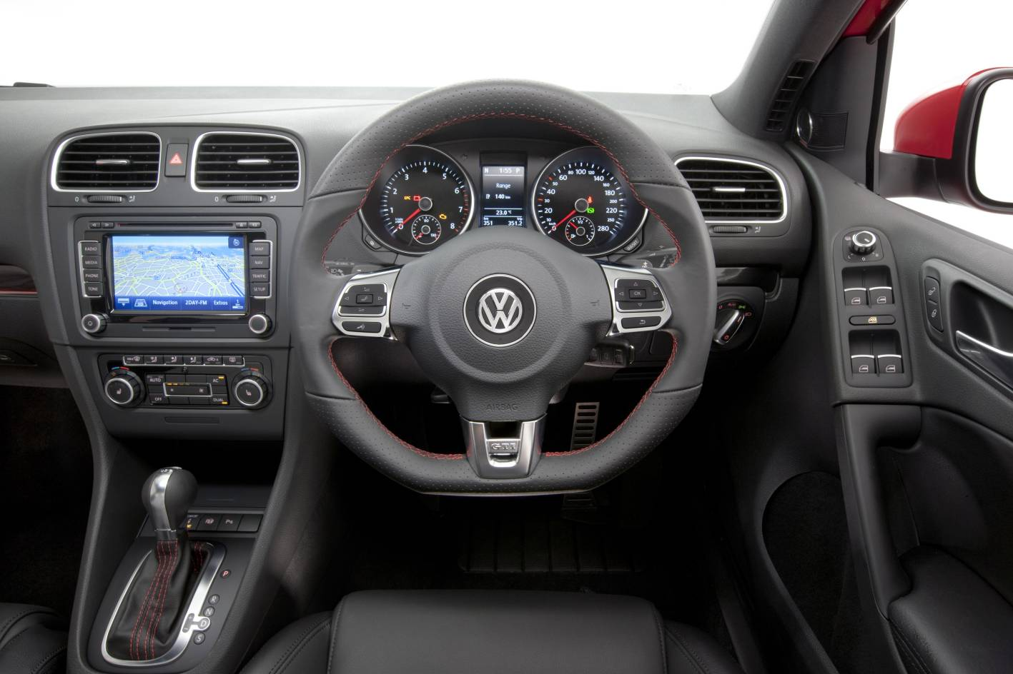 golf 6 gti sport interior the image kid