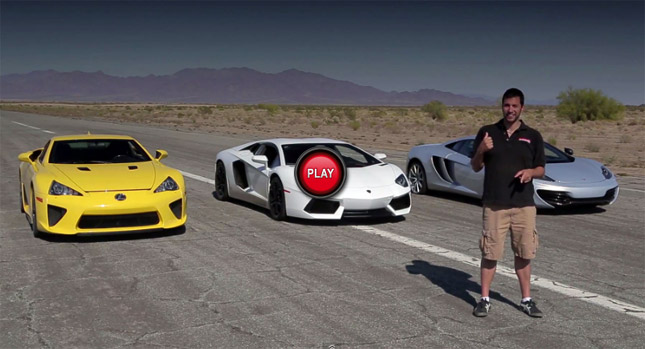 Video Quarter Mile Matchup With Bugatti Veyron