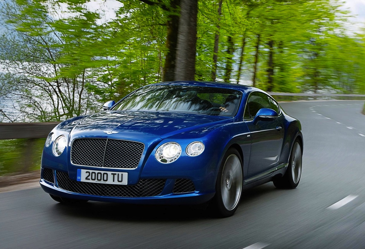 Bentley Cars - News: 2012 Continental GT Speed