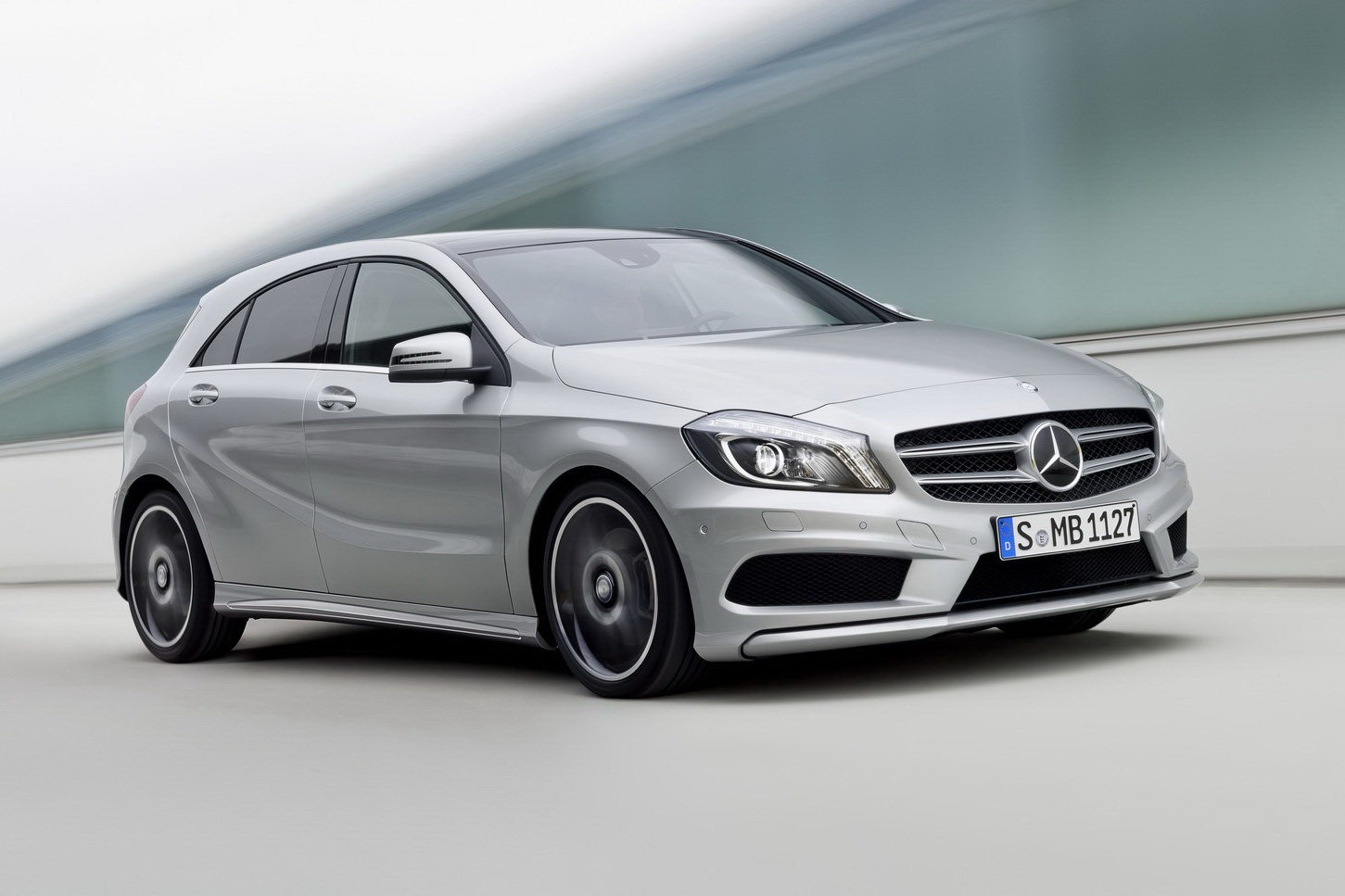 New Mercedes Benz A Class Launched In The Uk Priced From