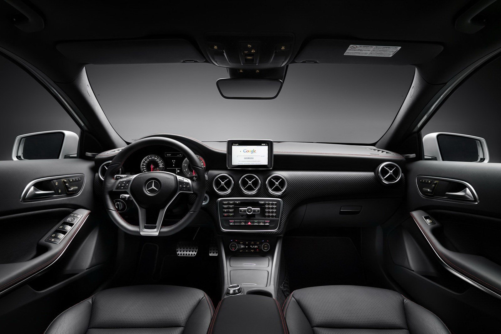 new mercedes benz a class launched in the uk priced from. Black Bedroom Furniture Sets. Home Design Ideas