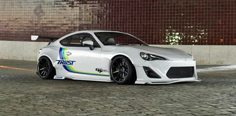 Toyota Tuning: Trust/Greddy Widebody Toyota GT86 rendering - Part ...