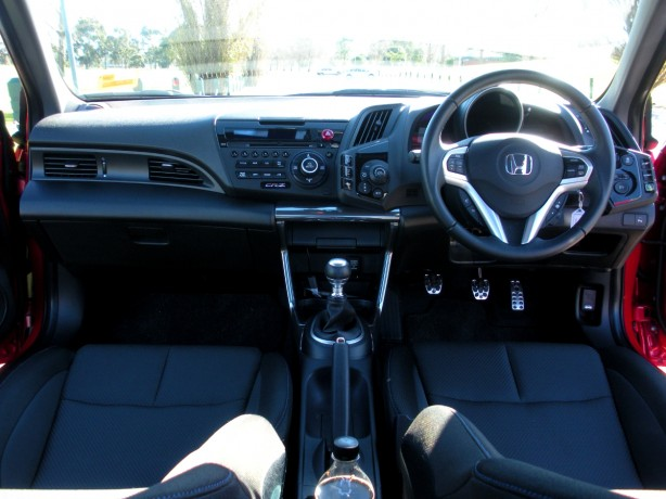 Honda CR-Z Review – 2012 Manual Sport, Interior