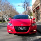 Honda CR-Z Review – 2012 Manual Sport, Grill 2
