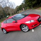 Honda CR-Z Review – 2012 Manual Sport, Driver Front Side