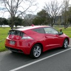 Honda CR-Z Review – 2012 Manual Sport, Parked (Rear)