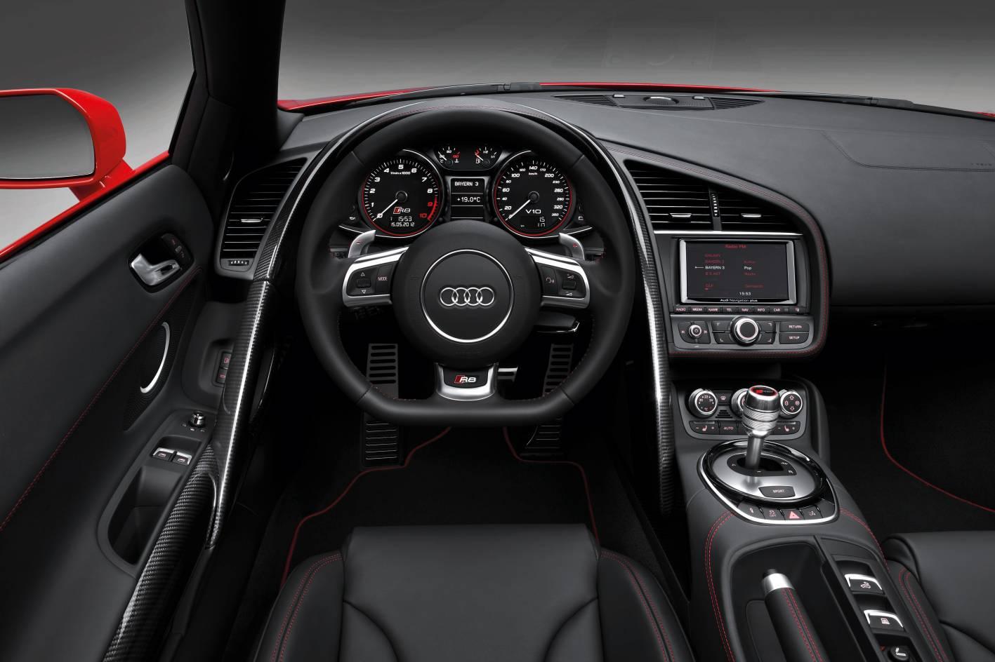 Audi R8 Interior Automatic more contoured R8