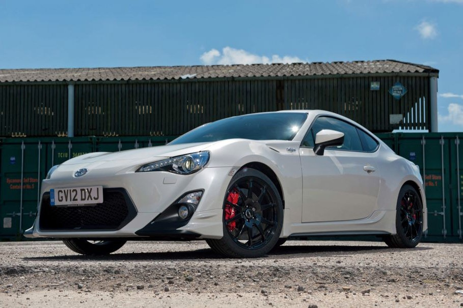 Toyota Trd Gt86 On Sale In The Uk From Early 2013