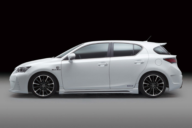 CT200h Black Bison Tuning Package by Wald International ...
