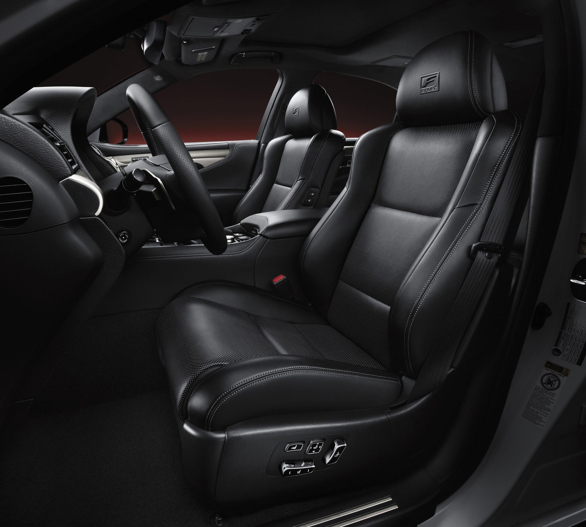 2013 Lexus Ls460 For Sale: LS F Sport Drivers Seat (pre Production Model Shown
