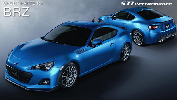 Subaru Cars - News: STI Performance parts for BRZ