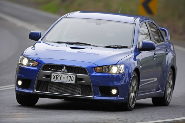 Mitsubishi Motors Australia Has Updated Its Fiery Lancer Evolution ...