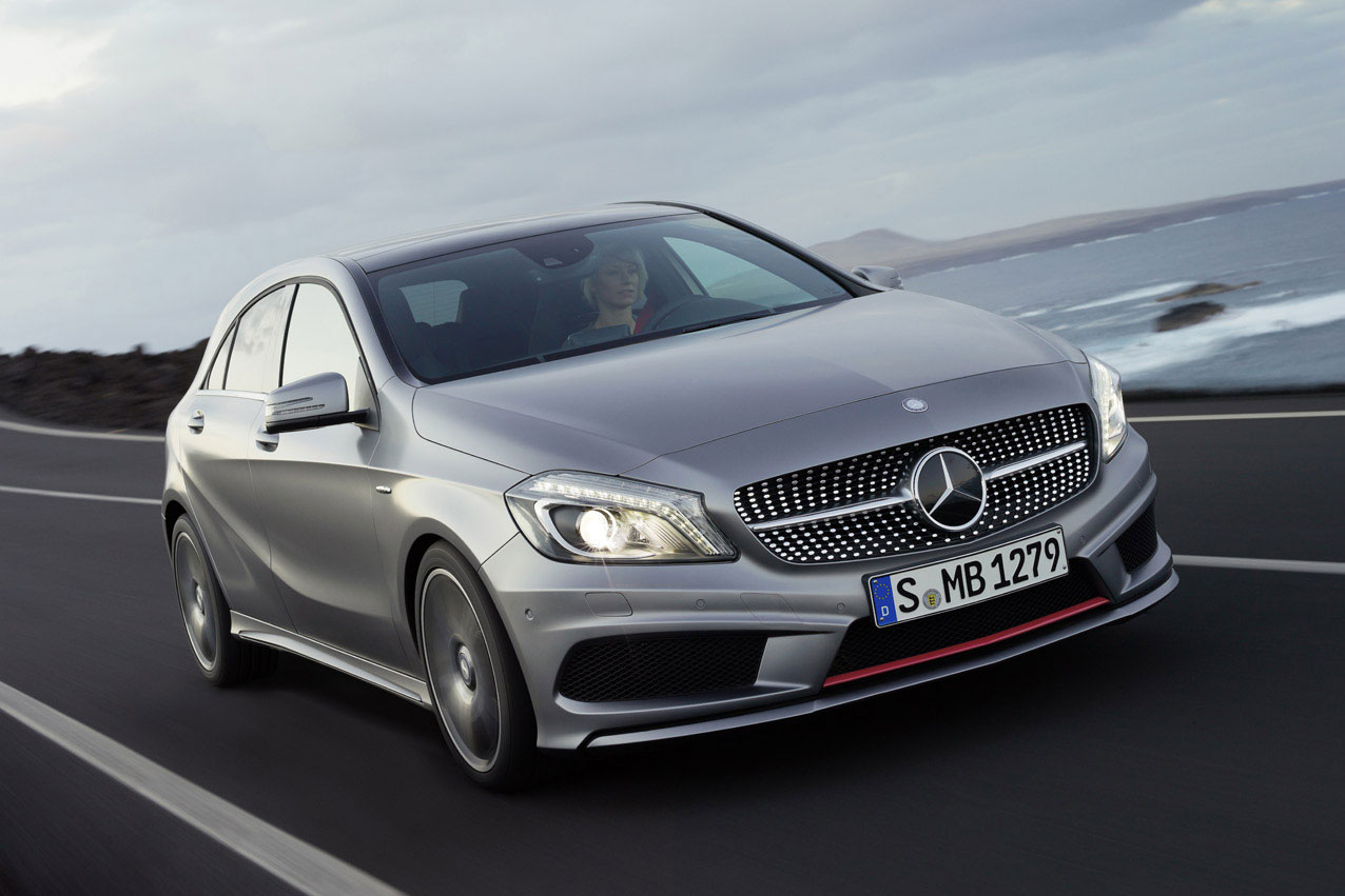 mercedes a45 amg performance figures announced. Black Bedroom Furniture Sets. Home Design Ideas