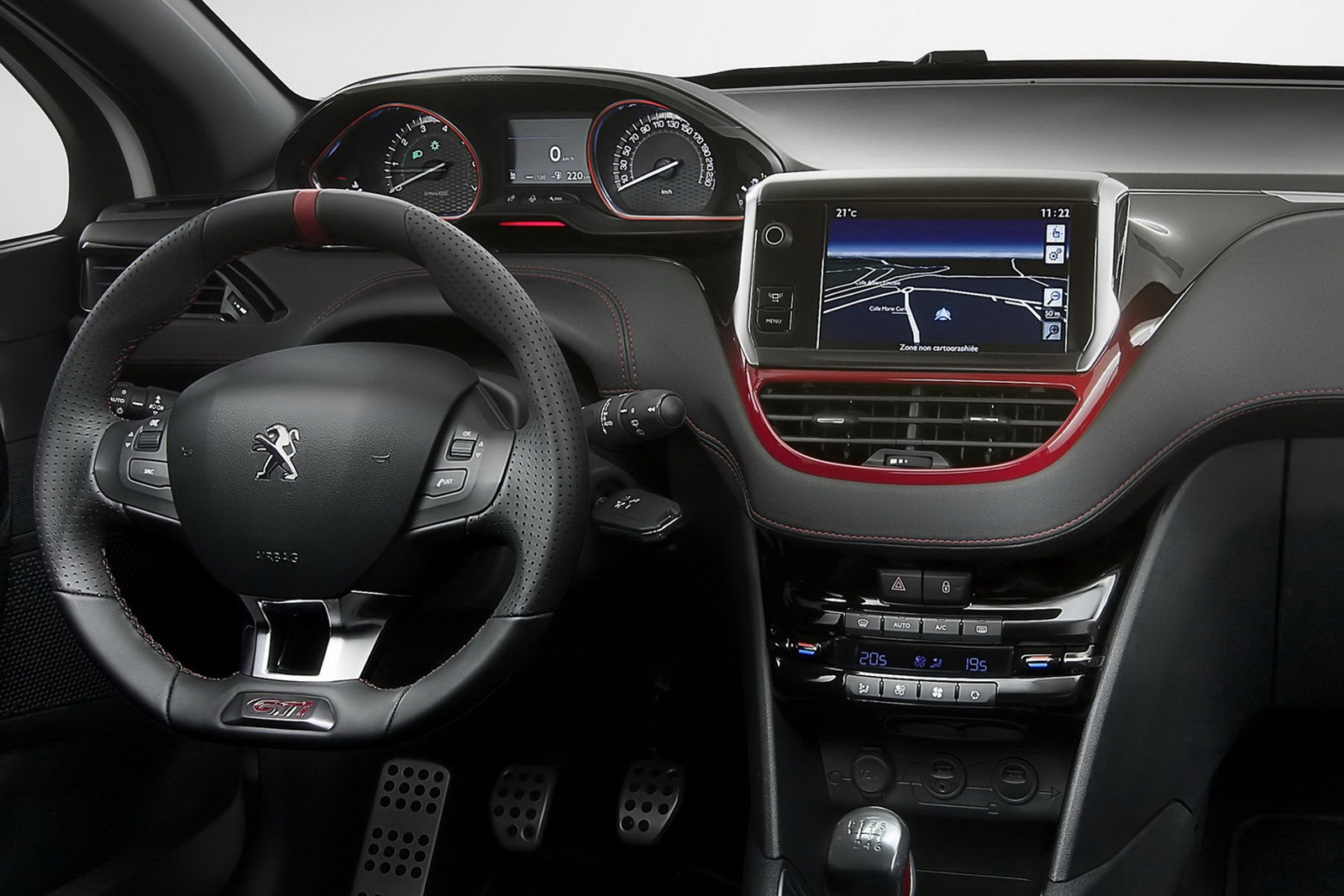 peugeot 208 interieur car interior design