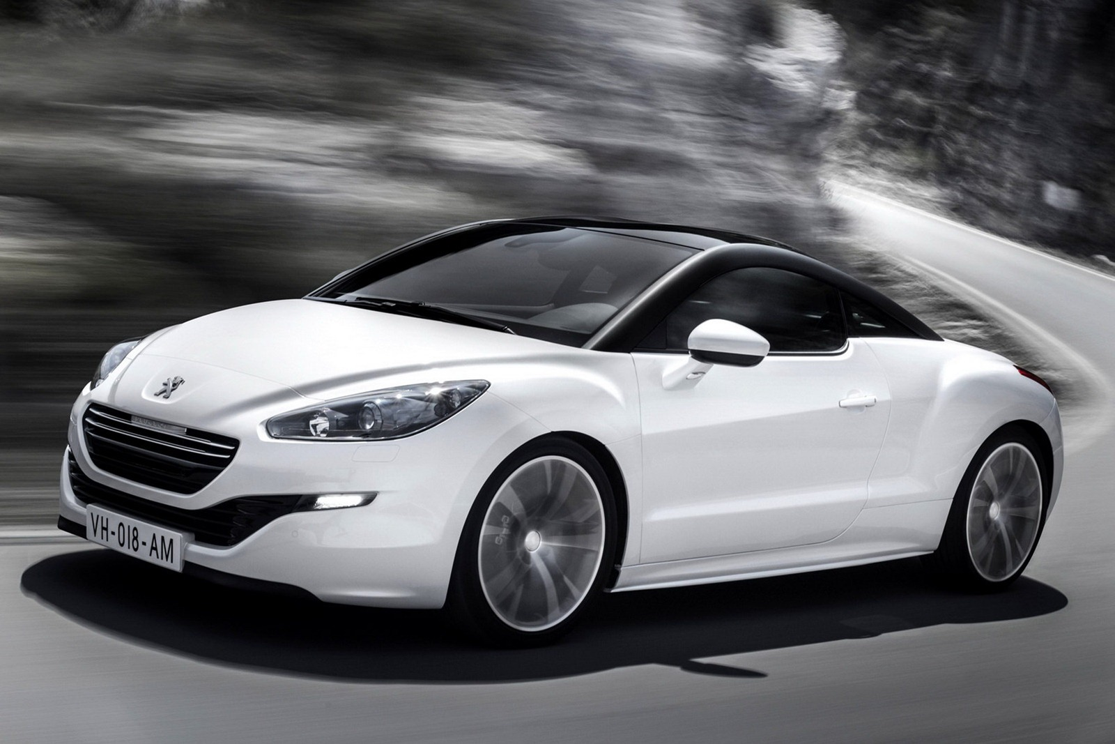 facelifted 2013 peugeot rcz coup headed for paris motor show. Black Bedroom Furniture Sets. Home Design Ideas
