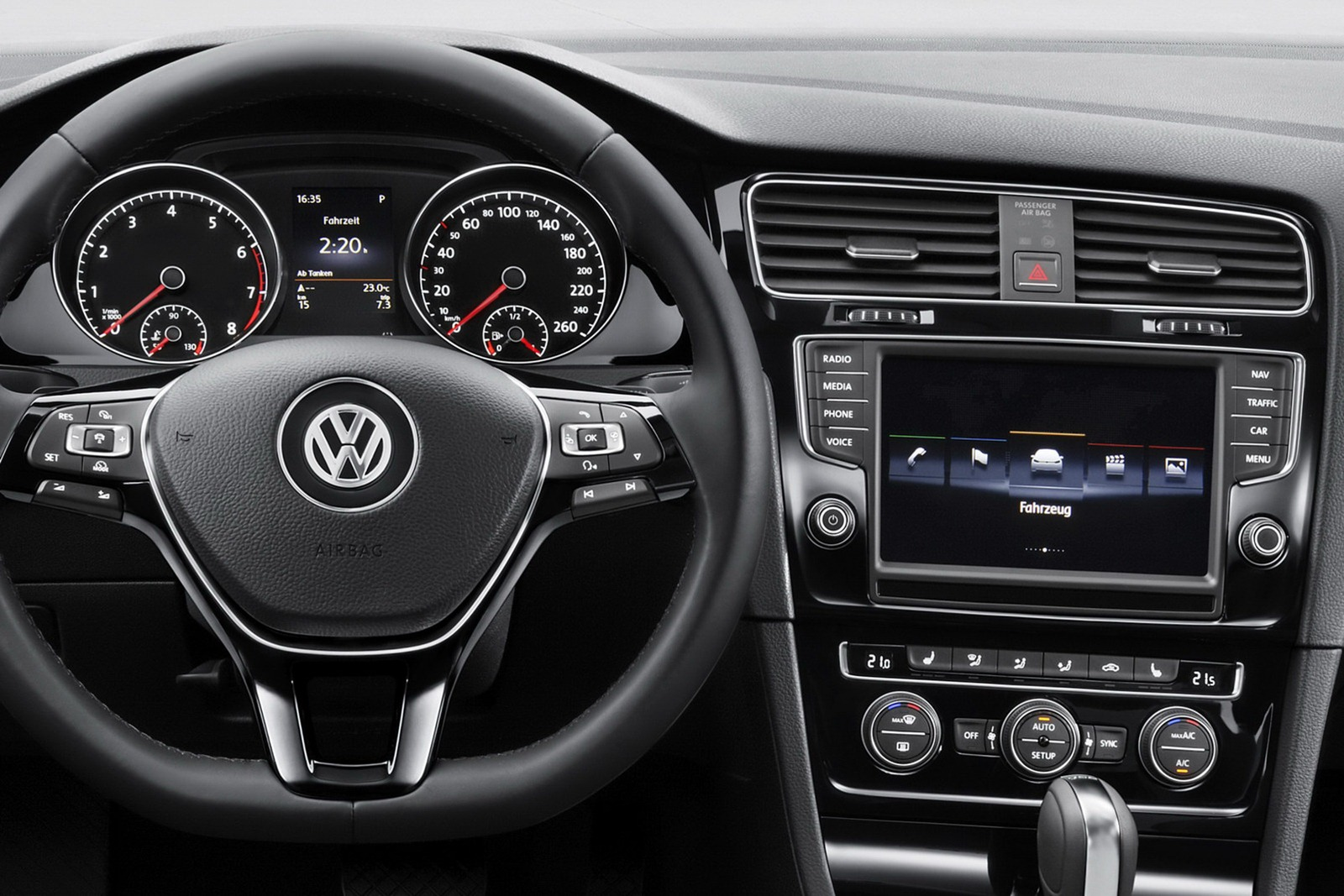 2013 vw mk7 golf interior 10. Black Bedroom Furniture Sets. Home Design Ideas
