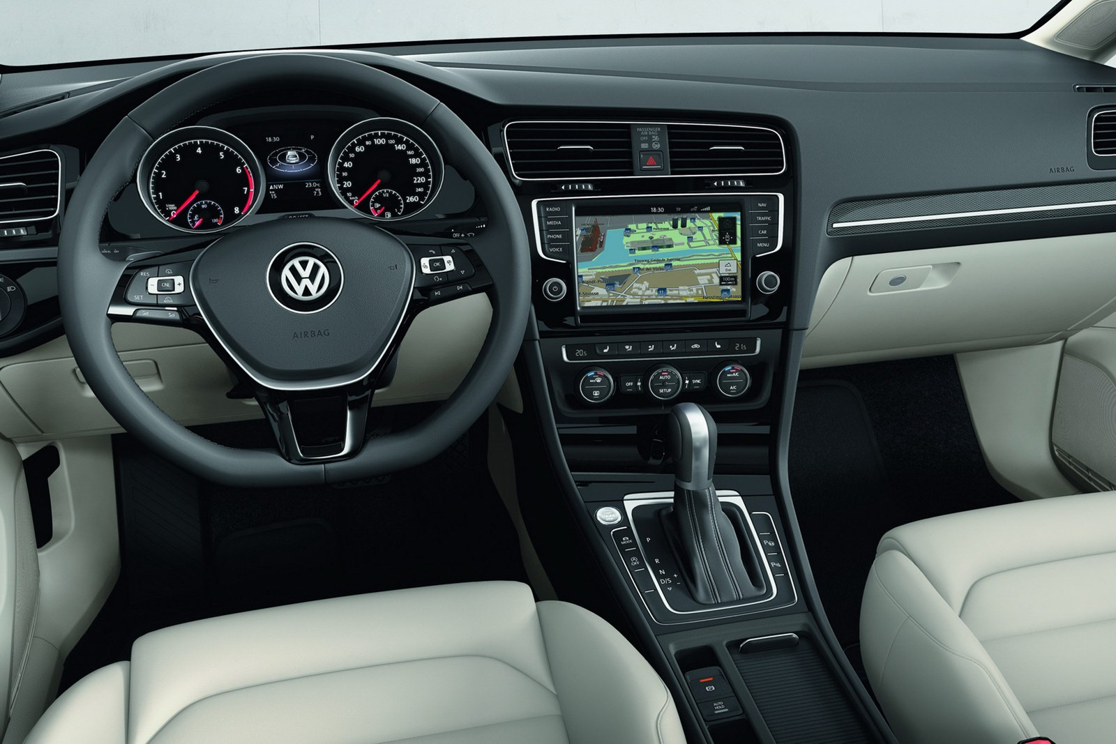 2013 vw mk7 golf interior 5 for Interior volkswagen golf