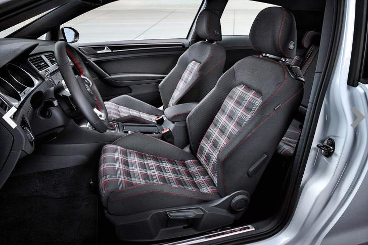 volkswagen cars news mk7 golf gti revealed ahead of debut. Black Bedroom Furniture Sets. Home Design Ideas