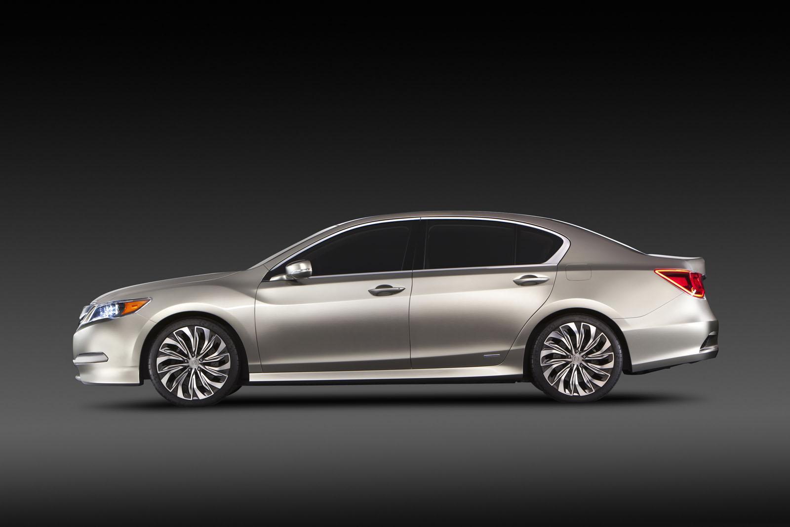 2014 Acura RLX previews next Honda Legend - ForceGT.com