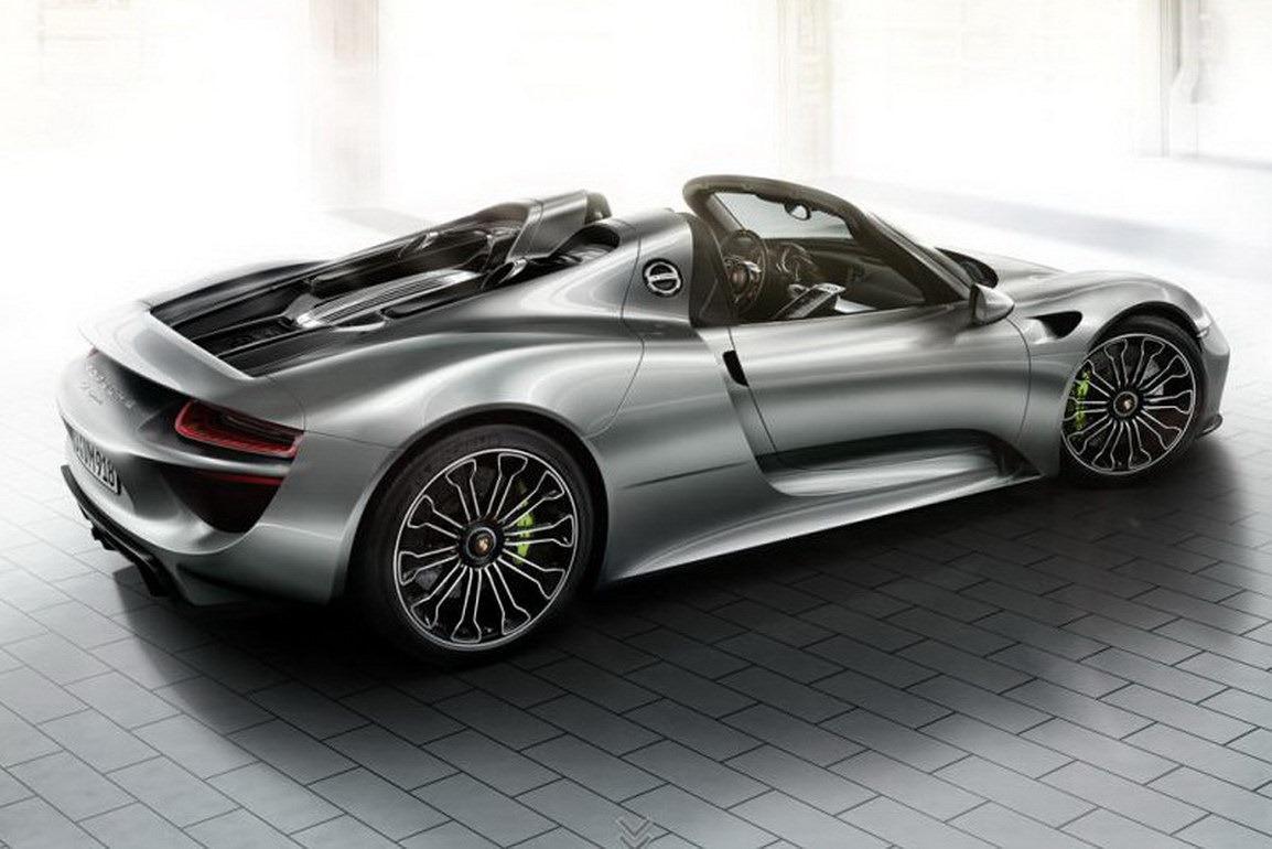 an error occurred - Porsche Spyder 2012